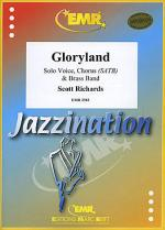 Gloryland (Female or Male Voice, Chorus SATB) Sheet Music