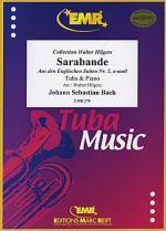 Sarabande Englischen Suite No. 2 Sheet Music