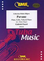 Pavane (Flote, Tuba, Cello, Klavier) Sheet Music