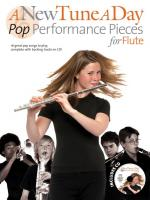 A New Tune A Day: Pop Performance Pieces - Flute Sheet Music
