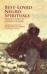 Best-Loved Negro Spirituals - Complete Lyrics To 178 Songs Of Faith Sheet Music
