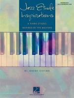 Jazz Etude Inspirations Sheet Music