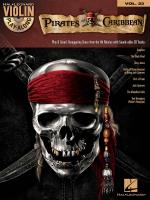 Violin Play-Along Volume 23: Pirates Of The Caribbean Sheet Music