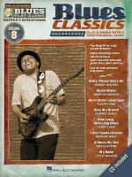 Blues Play-Along Volume 8: Blues Classics Sheet Music