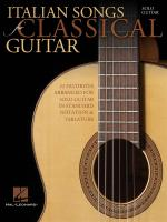 Italian Songs For Classical Guitar Sheet Music