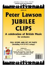Peter Lawson: Jubilee Clips - A Celebration Of British Music (Score/Parts) Sheet Music