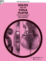 Solos For The Viola Player Sheet Music