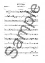 G.F. Handel: Samson (Bassoon Part) Sheet Music