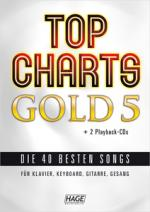 Hage Musikverlag Top Charts Gold 5 Sheet Music