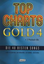 Hage Musikverlag Top Charts Gold 4 Sheet Music