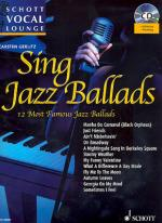 Schott Vocal Lounge Sing Jazz Ballads Sheet Music