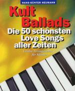 Bosworth Kult Ballads G.heumann Sheet Music