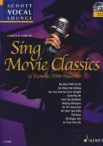 Schott Sing Movie Classics Sheet Music