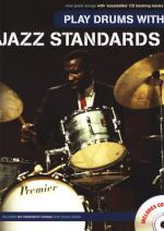 Wise Publications Play Drums With Jazz Standards Sheet Music