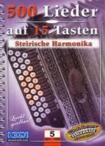 Echo Musikverlag 500 Lieder Auf 15 Tasten (5) Sheet Music