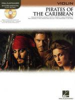 Hal Leonard Pirates Of The Caribbean (vl) Sheet Music