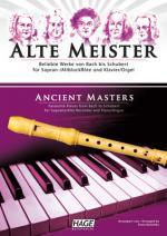 Hage Musikverlag Alte Meister Rec Piano Sheet Music
