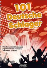 Hage Musikverlag 101 Deutsche Schlager 5 Cd`s Sheet Music