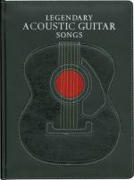 Music Sales Legendary Acoustic Guitar Song Sheet Music