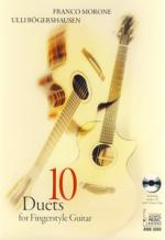 Acoustic Music 10 Duets Fingerstyle Guitar Sheet Music