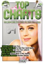 Hage Musikverlag Top Charts 54 Sheet Music