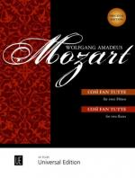 W.A. Mozart: Cosi Fan Tutte (2 Flutes) Sheet Music
