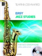 Easy Jazz Studies - Alto Saxophone Sheet Music