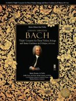 J.S. BACH: 'Triple' Concerto For Three Violins In D BWV1064 Sheet Music