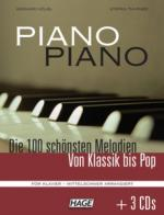 Hage Musikverlag Piano Piano Vol.1 Interm.+cd Sheet Music