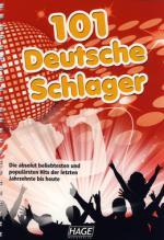 Hage Musikverlag 101 Deutsche Schlager Und Lied Sheet Music