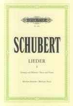 E Peters Schubert Lieder I Mittlere Sheet Music