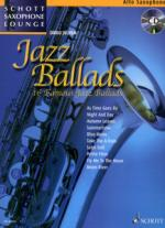 Schott Jazz Ballads F. Alto Saxophone Sheet Music