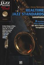 Alfred Music Publishing Realtime Jazz Standards Sax. Sheet Music