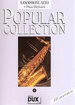 Edition Dux Popular Collection 4 (a-sax) Sheet Music