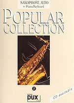 Edition Dux Popular Collection 2 (a-sax) Sheet Music
