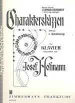 Zimmermann Verlag Charakterskizzen Op.40 Sheet Music