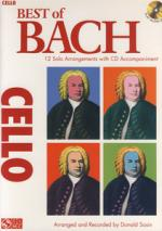 Hal Leonard Best Of Bach For Cello Sheet Music