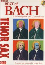 Hal Leonard Best Of Bach T-sax Sheet Music