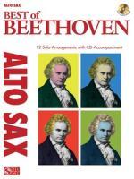 Hal Leonard Best Of Beethoven A-sax Sheet Music