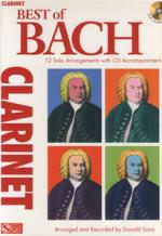 Hal Leonard Best Of Bach Clarinet Sheet Music