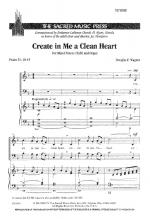 Create In Me A Clean Heart Sheet Music Sheet Music