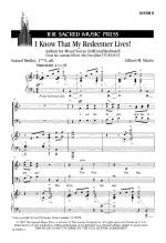 I Know That My Redeemer Lives - SAB Sheet Music Sheet Music