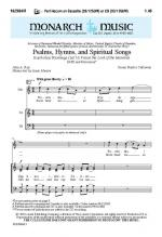 Psalms, Hymns, And Spiritual Songs Sheet Music Sheet Music