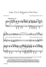 Jesus, You're Welcome In This Place Sheet Music Sheet Music