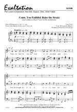 Come You Faithful, Raise The Strain Sheet Music Sheet Music