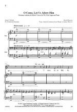 O Come, Let Us Adore Him Sheet Music Sheet Music