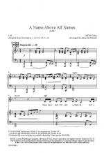 A Name Above All Names Sheet Music Sheet Music