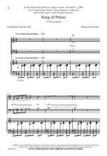 Song Of Praise Sheet Music Sheet Music