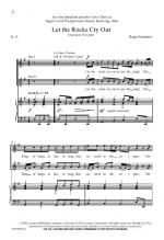 Let The Rocks Cry Out Sheet Music Sheet Music