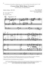 Crown Him With Many Crowns Sheet Music Sheet Music